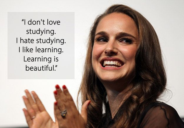 On her brain: