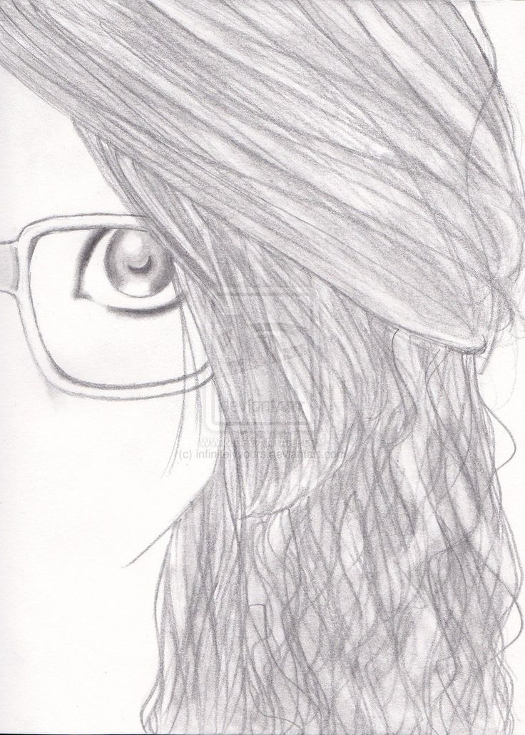 Cute Drawing Of A Girl With Glasses Hipster Drawings Easy Drawings Hipster Drawing