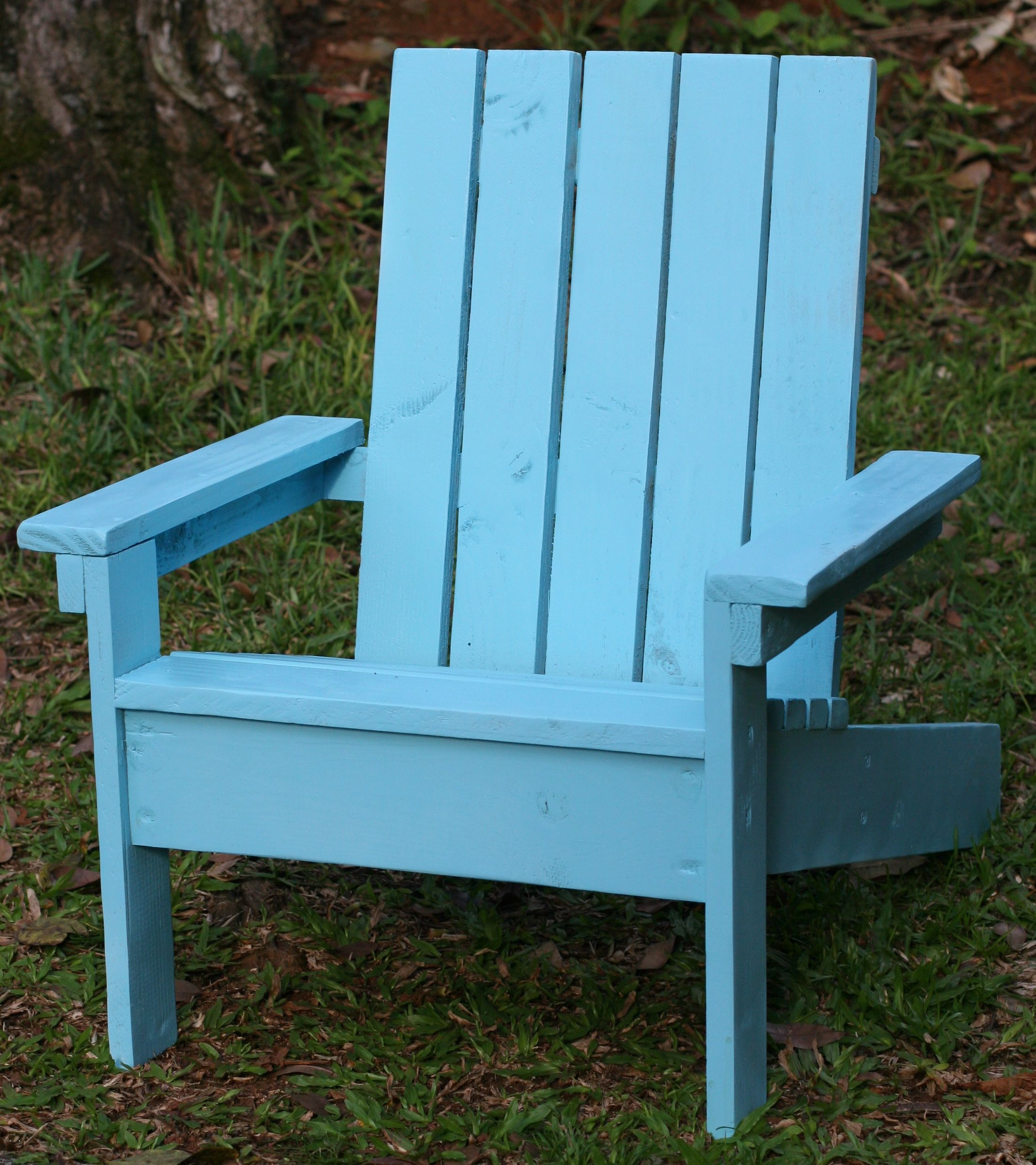 Ana White Little Adirondack Chair DIY Projects
