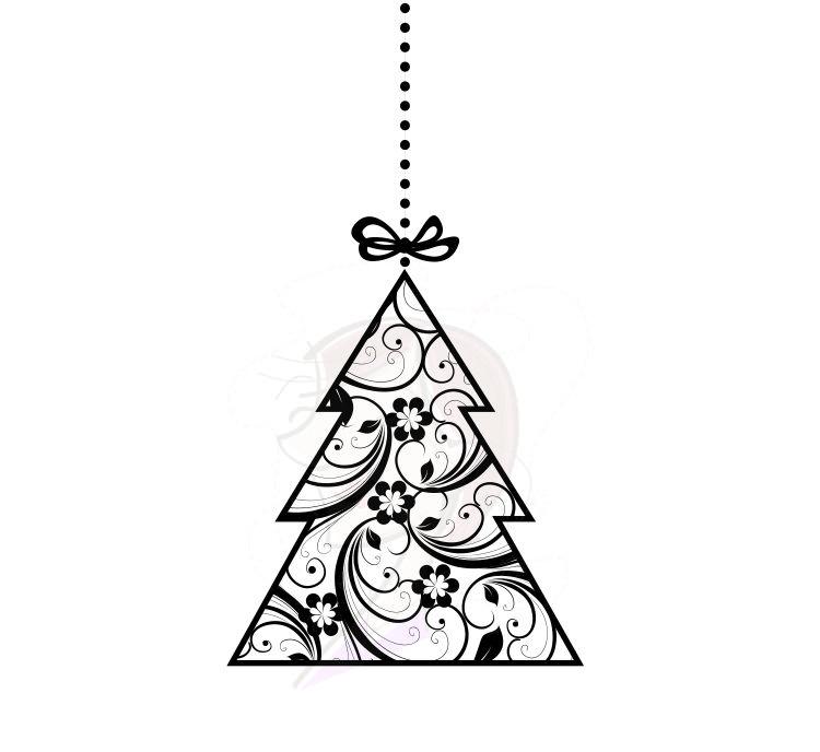 Vintage Christmas Tree Ornaments Decorations Xmas Retro Baubles Christmas Tree Baubles Deco Vintage Christmas Tree Christmas Card Inspiration Vintage Christmas