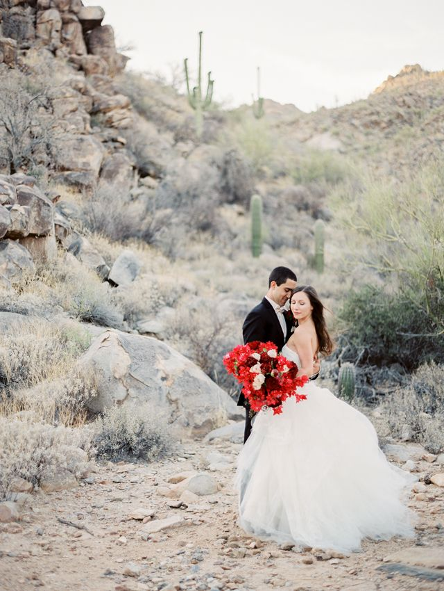 A New Orleans Fusion Wedding in the Desert Arizona