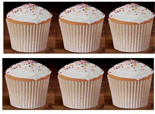 100 White Large Jumbo Texas Muffin Cupcake Cups White 6inch Flutted Cupcake Liners Baking Cups 6 Cupcake In A Cup Desserts Around The World Cupcake Muffins