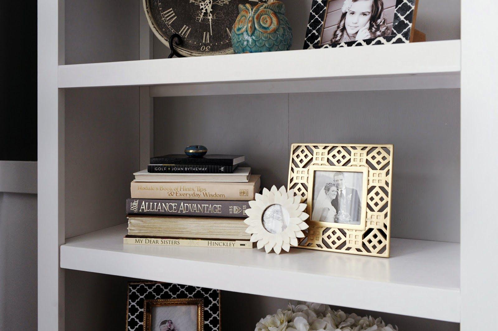 Studio 7 Interior Design How To Stage A Bookcase Den