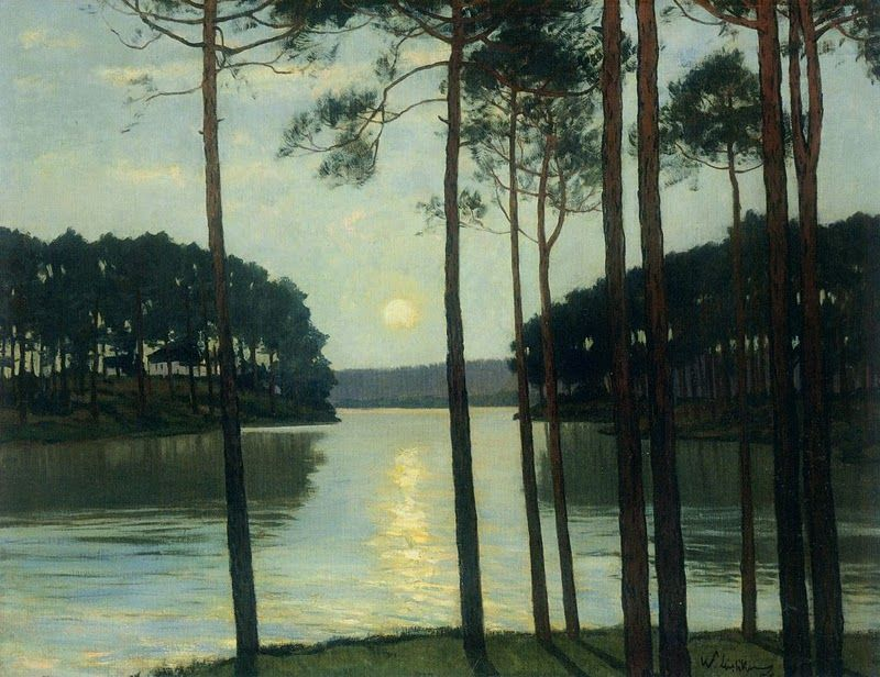 Evening Mood at Schlactensee, 1895, Walter Leistikow