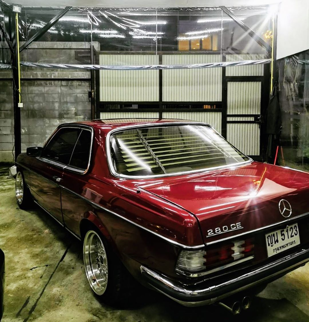 W123 280ce Mercedes Benz Coupe Mercedes Coupe Mercedes Benz Cars