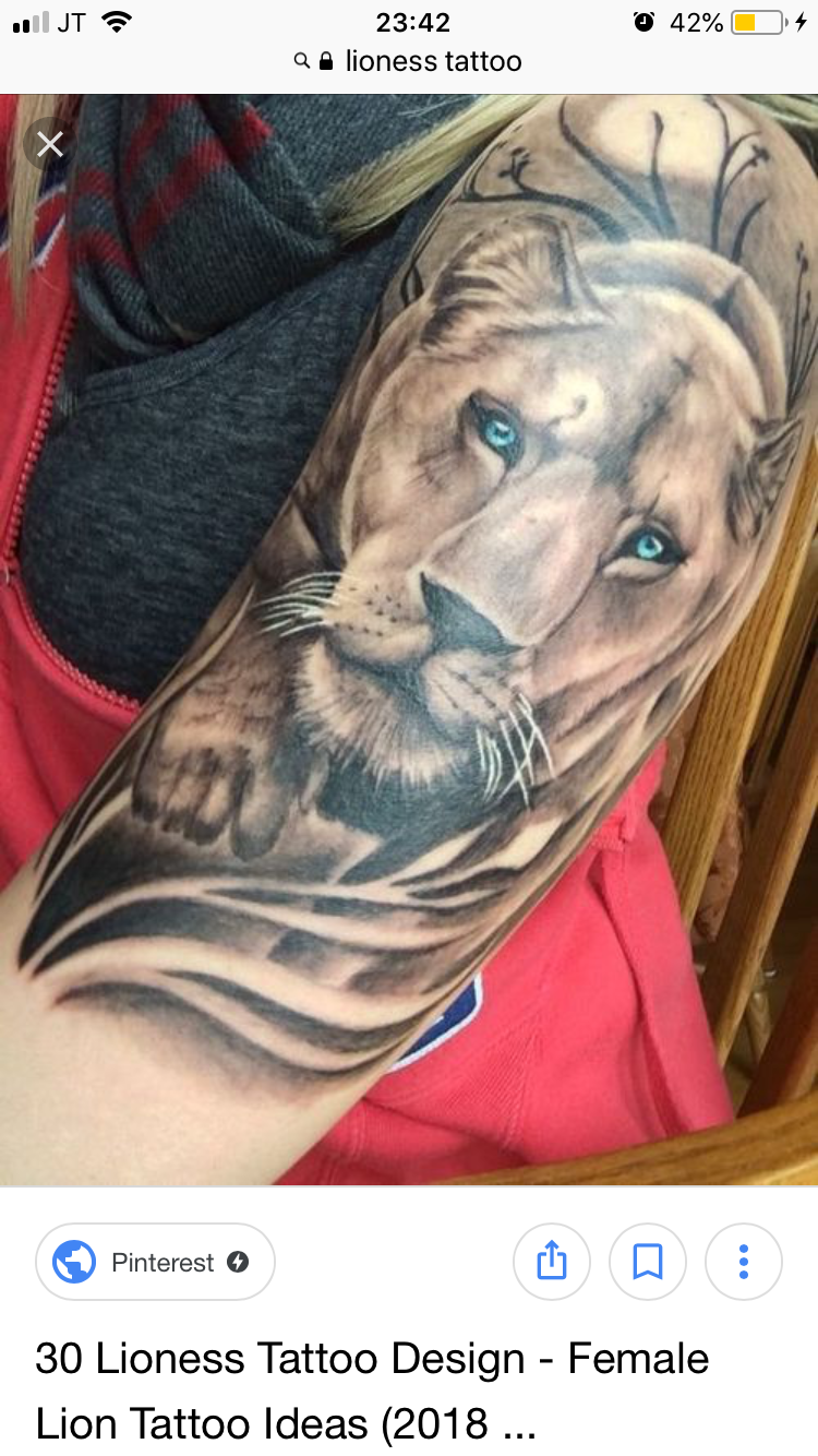 Pin by lindsey campbell on tattoos pinterest tattoos lioness