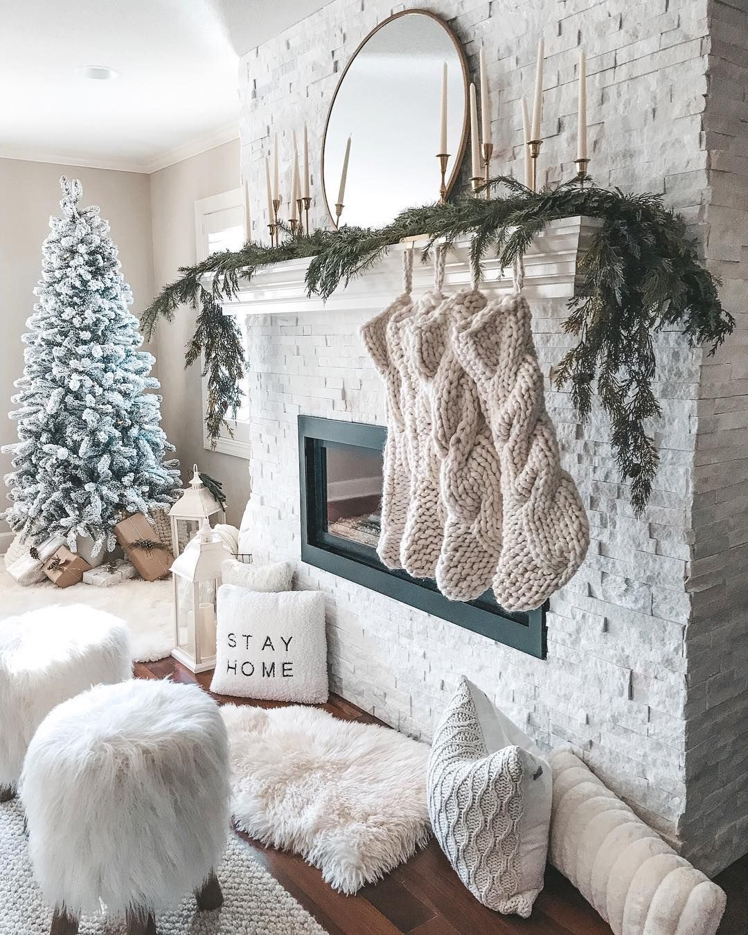 Becky Hillyard Cella Jane On Instagram Tonight S Agenda Cozied Up By The Fireplace With Some Wine And A Good Book What S Your Plan Shop My H With Images Decor