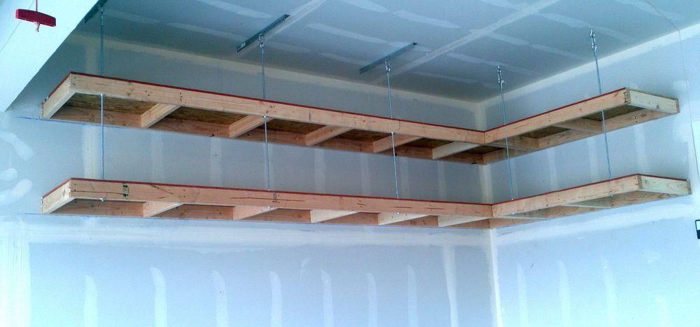 Garage Ceiling Storage Lift Home Design Ideas Diy Overhead