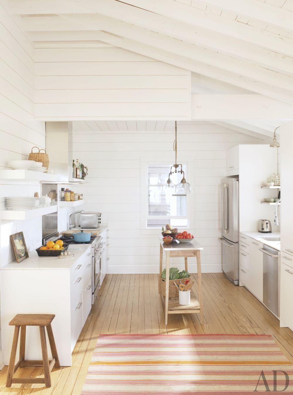Hamptons Home | Pinterest | weiße Küchen, Frisch und Küche