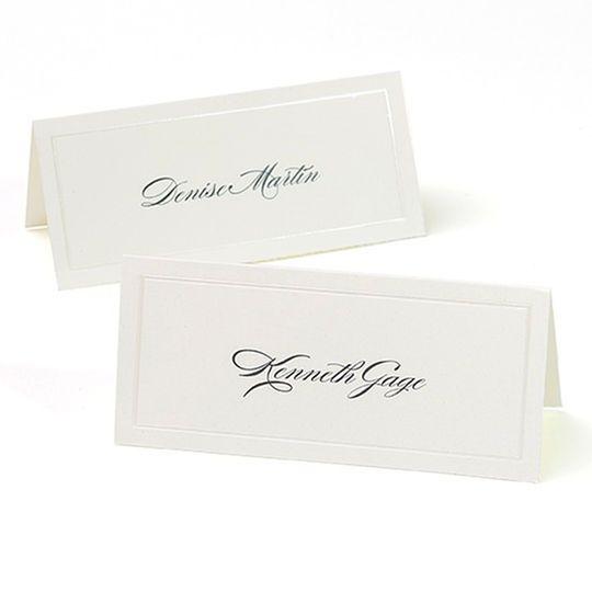 Gartner Studios Pearl Ivory Border Place Cards Gartner Studios Place Cards Cards