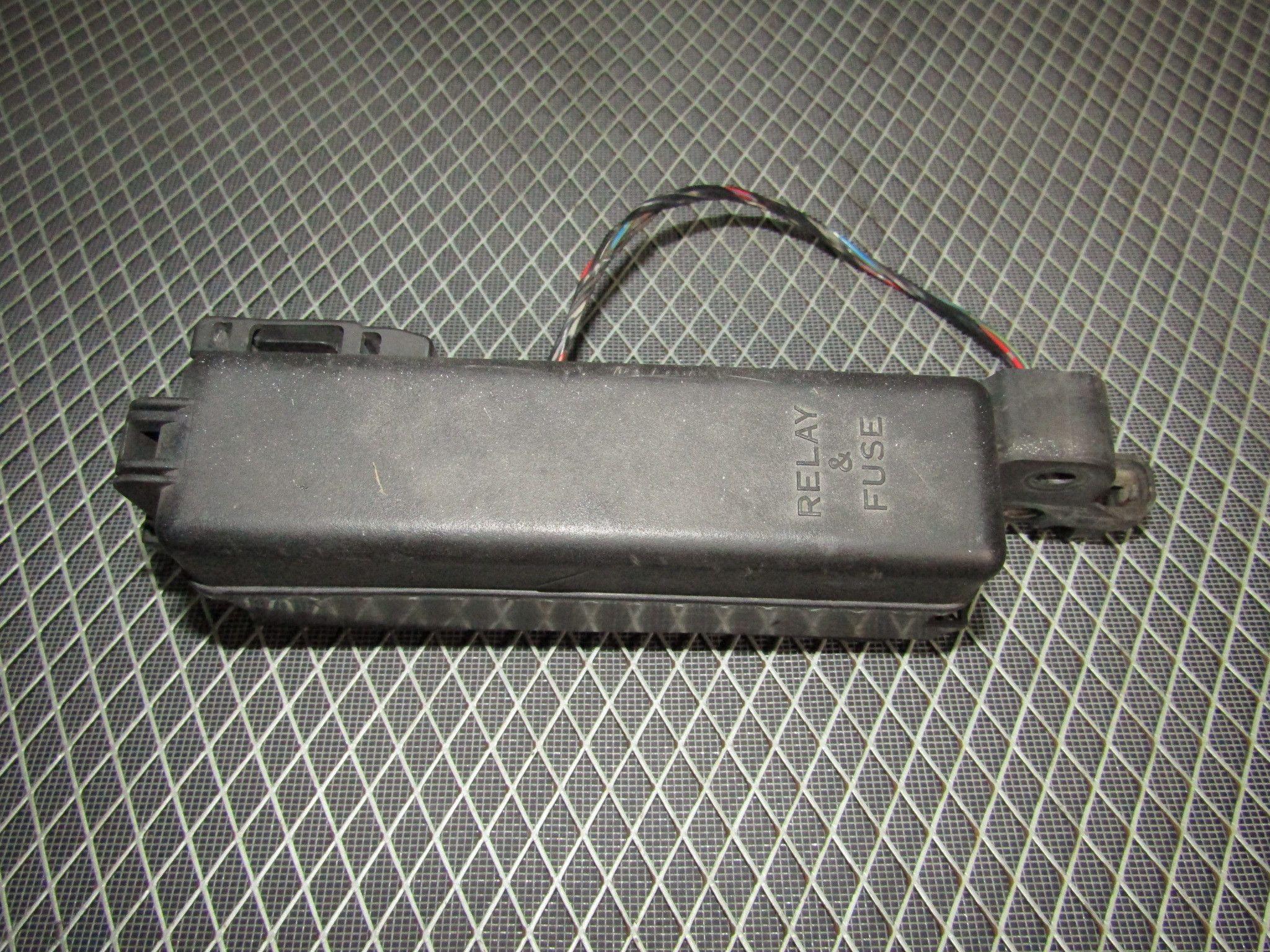 WRG-2262] 93 Camry Fuse Box