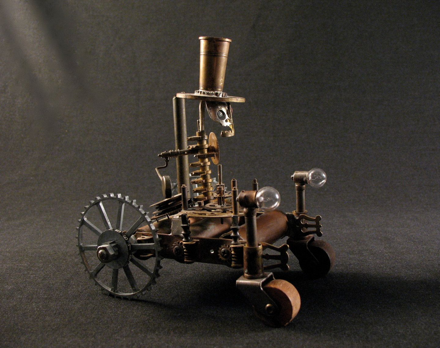 Steampunk car steampunk pinterest cars sculpture and tractors