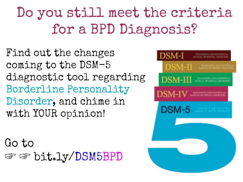 Do You Still Meet The Criteria For Bpd Under The Dsm 5
