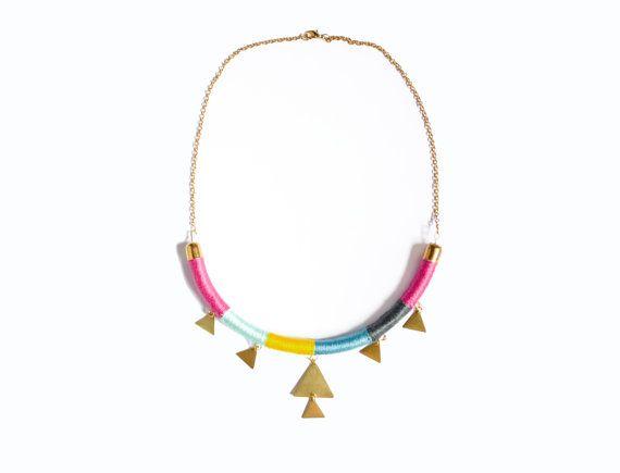 Collar Geometrico by Kalinkat