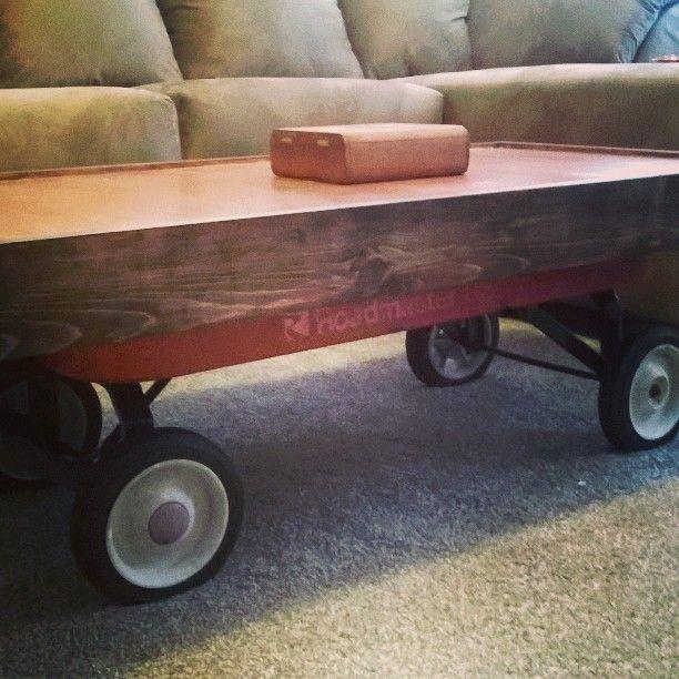 Blake Marisa S Vintage Wagon Converted To Coffee Table My Men