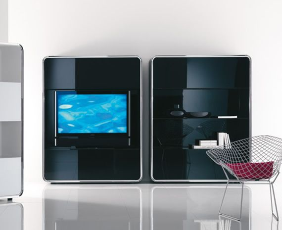 The hi tech living room design the man cave equivalent for Hi tech living room designs