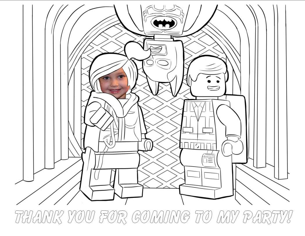 Everything Is Awesome Lego Party Batman Coloring Pages Lego Movie Coloring Pages Superhero Coloring Pages
