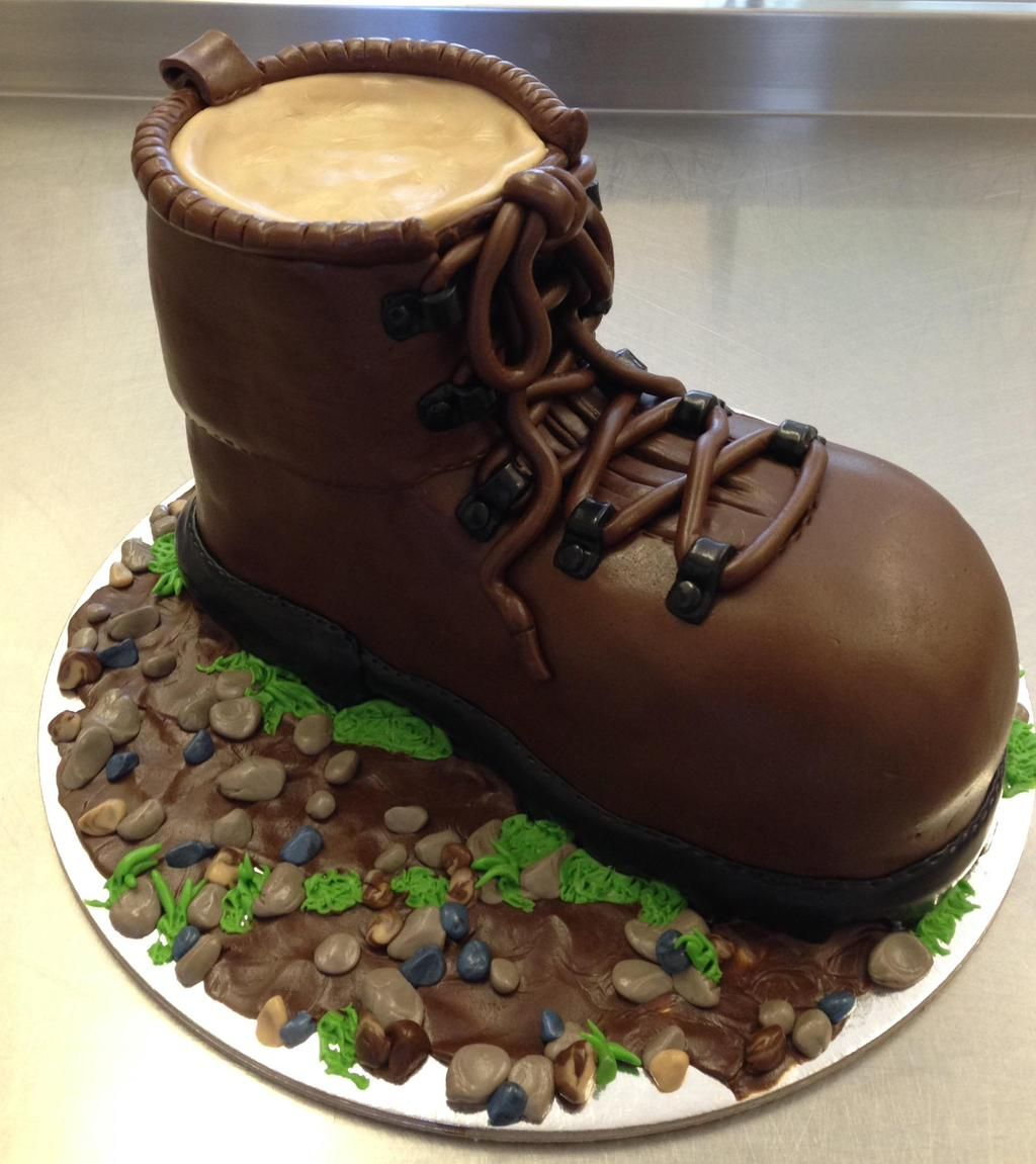 @dartmoornpa Big Congrats on winning your award! :O) You could Celebrate with a boot cake like this one we made! :O)