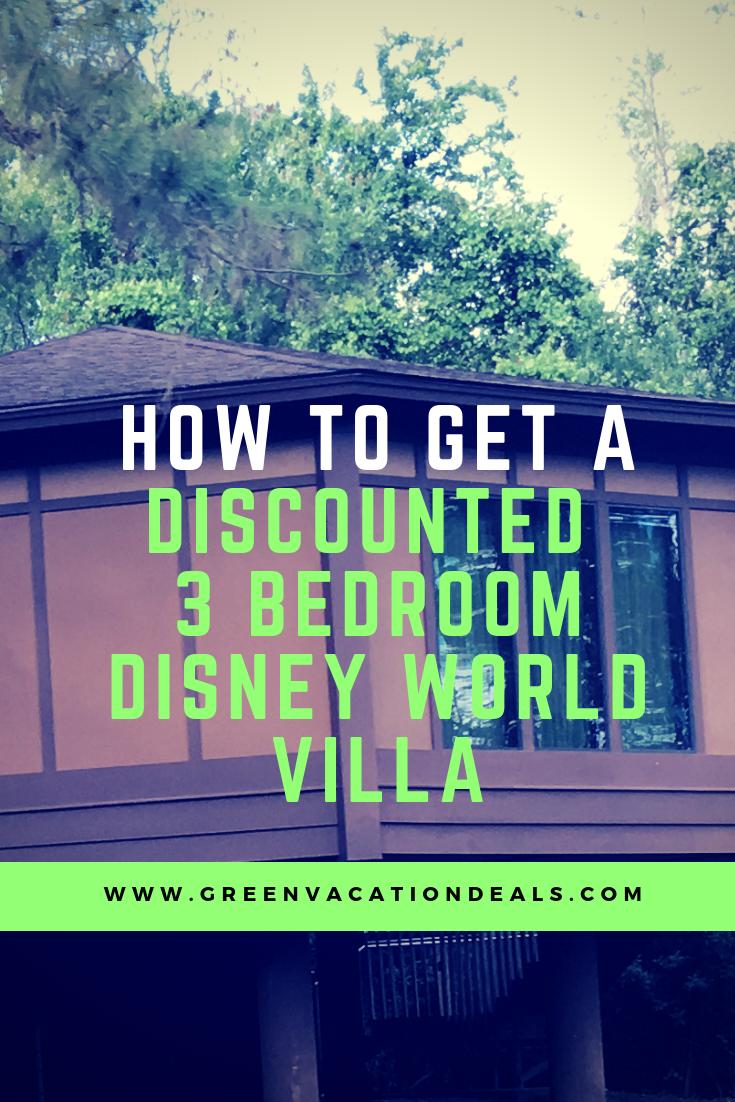 Discount Price 3 Bedroom Disney World Villa | Walt Disney