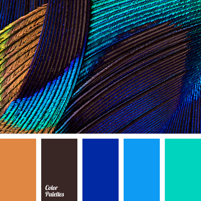 Color Combinations With Blue great collection of contrasting palettes with different shades