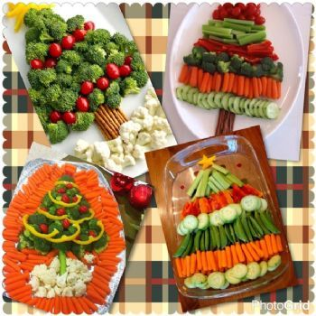 Christmas Veggie Tray.Christmas Tree Veggie Tray Ideas Christmas Items
