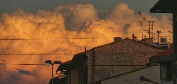 Nuvole sulla città