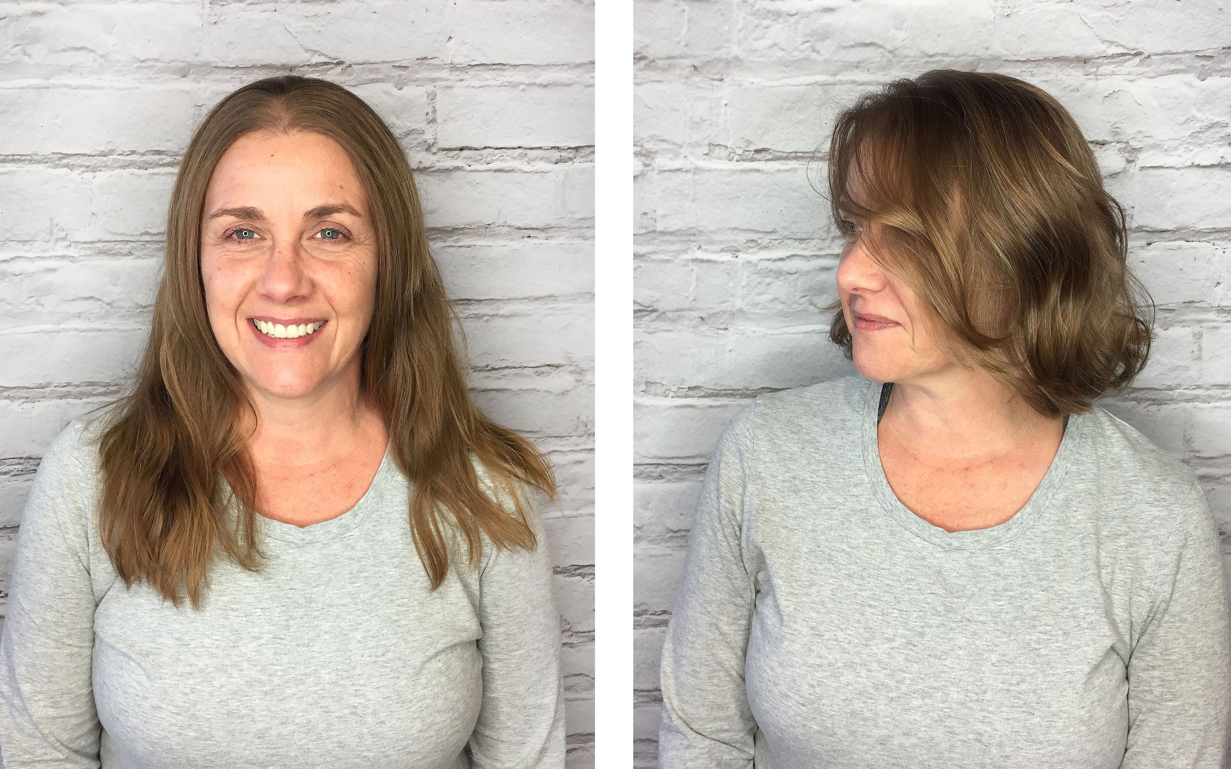 Haircut From Long To Short By Melissa Bp Cut And Color