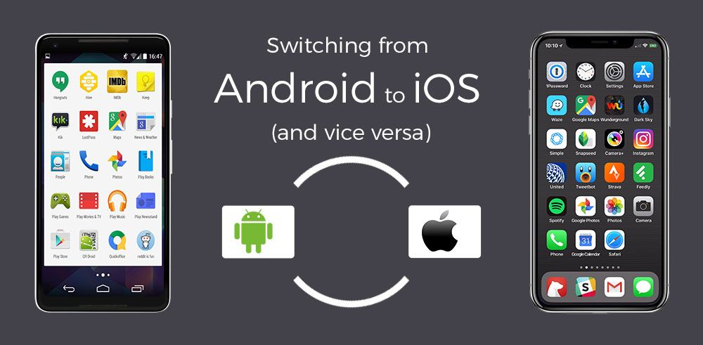 Converting iOS to Android or the other way round is a time