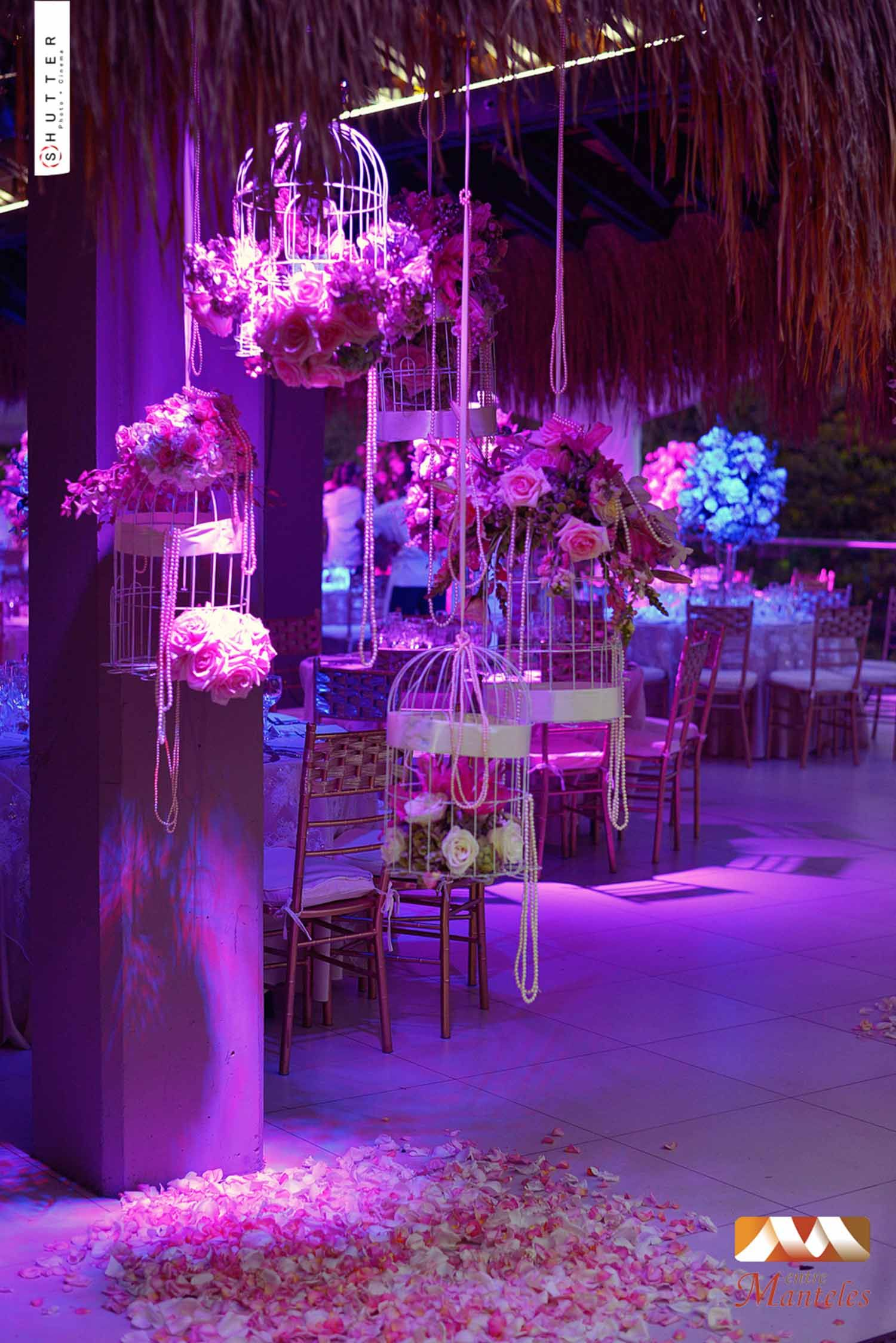 Decoraciones de bodas con jaulas google search - Ideas para decorar fiestas ...