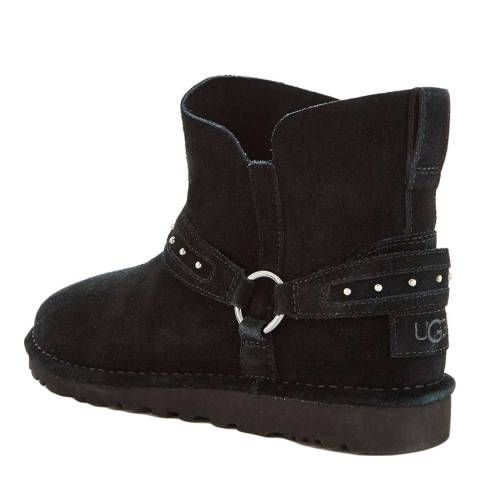 963de4fdbebe UGG Black Suede Ailiyah Ankle Boots in 2019