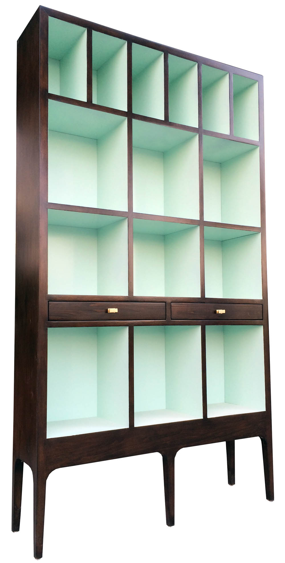 Obsessed Need This Seafoam Mint Green Asap Please Style 2531 Lockwood Bookcase Offered Exclusively By Empiric Contains Two Drawers And Mint Green Furniture Mint Green Kitchen Green Home Decor