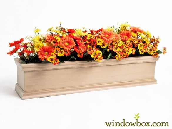 Lancaster Cedar Window Box With Vinyl Liner Outdoor Flower Boxes Flower Boxes Cedar Window Boxes