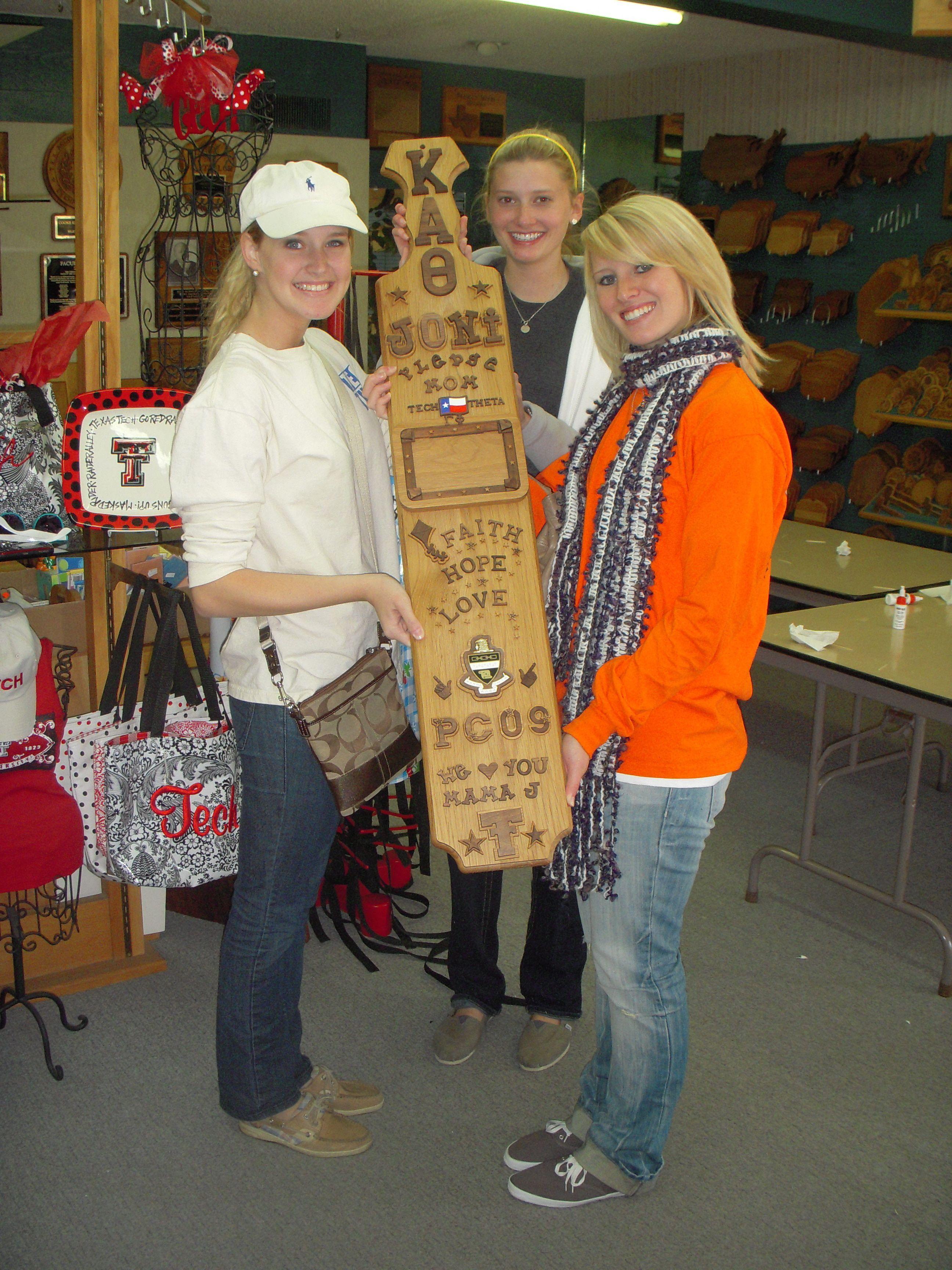 Kappa Alpha Theta Sorority Pledge Mom Paddle 4 Foot Paddle Paddletramps Pledgemom Sororitylife Greeklife Kappaalphatheta Thinktheta