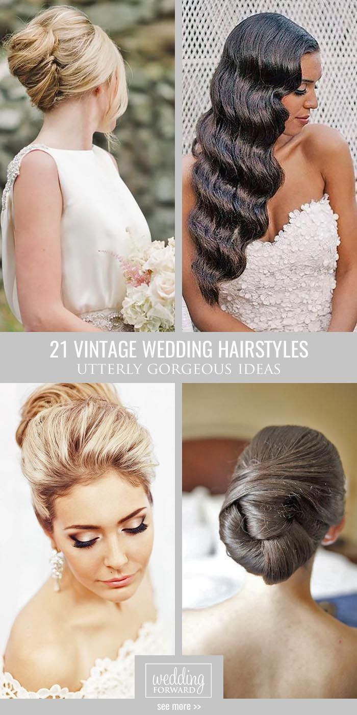 36 utterly gorgeous vintage wedding hairstyles | pinterest | vintage