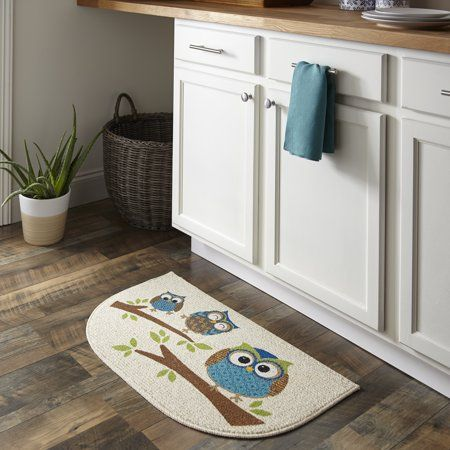 Owl Kitchen Rugs Walmart Cabinets Mainstays Branches Mat Multicolor In 2018 Products