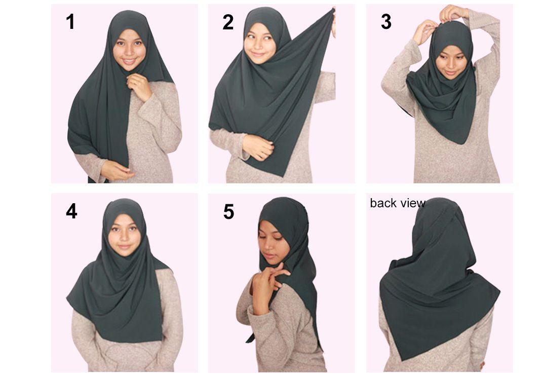 Cara Pakai Shawl Labuh Dalam 2 Minit Untuk Fesyenista Shawl