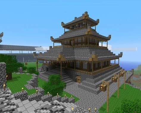 minecraft japanese pagoda