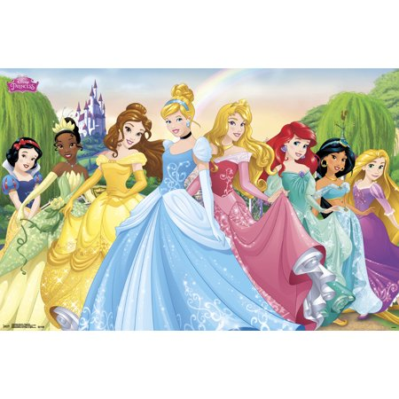 Disney Princess Group 2015 Walmart Com In 2021 Disney Princess Wallpaper Walt Disney Images Disney Princess Cartoons