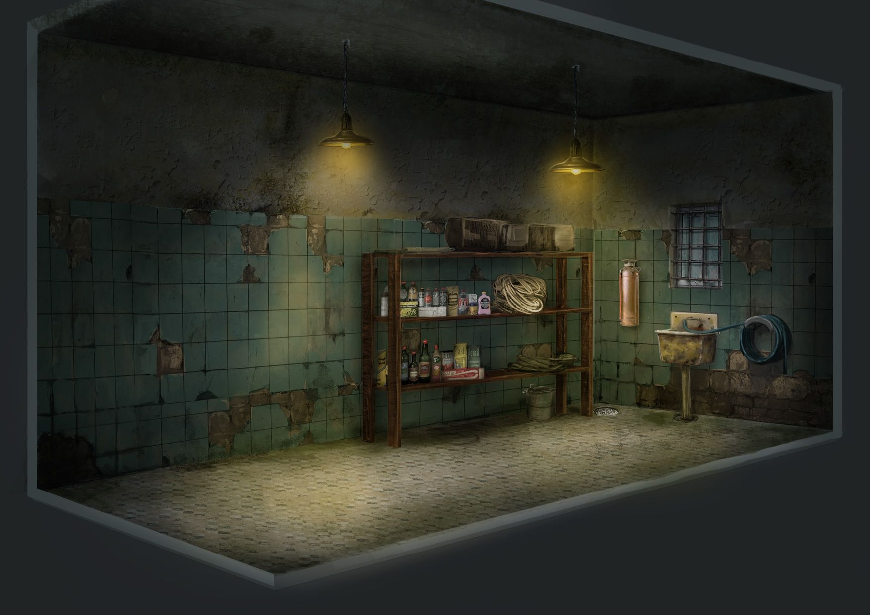 Project Discord   Indie Video Game ~ Janitor Closet 2