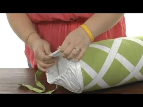YouTube Bolster Pillow Bolster Pillow Pinterest New How To Make A Bolster Pillow Cover