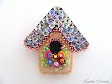 birdhouse pin