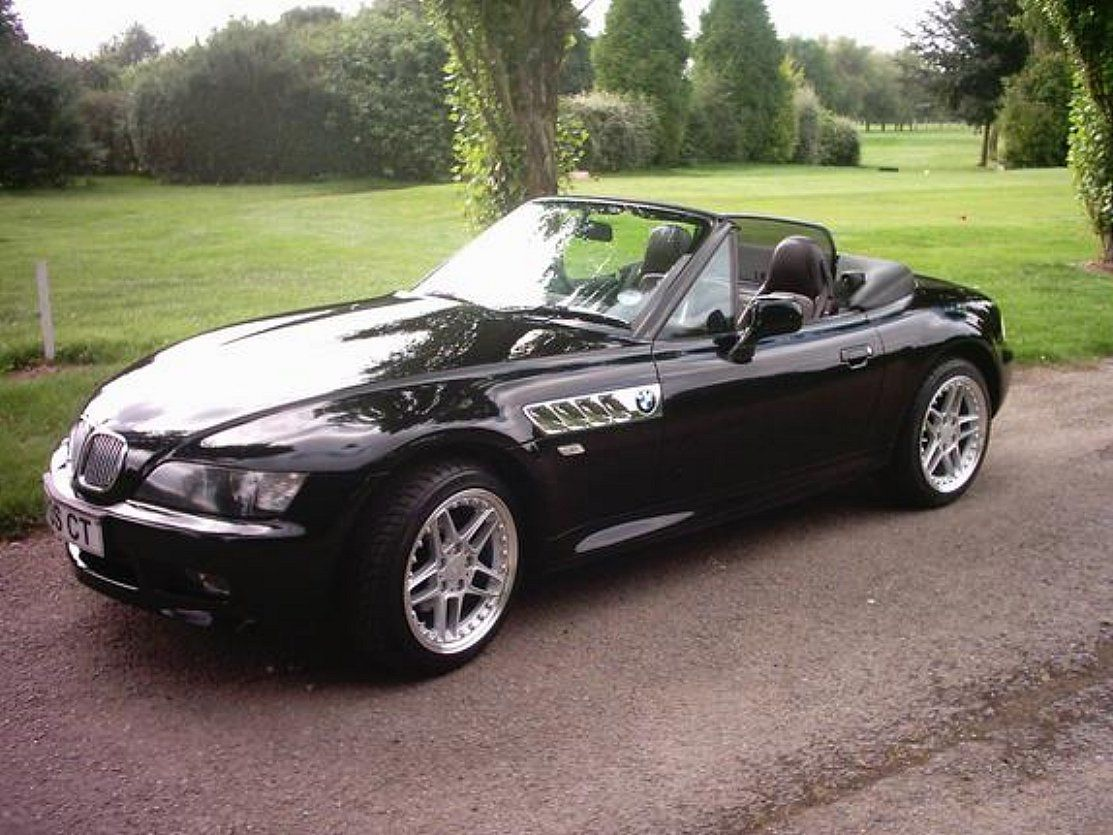 hight resolution of own a black bmw z3 1997 love this car in most any color