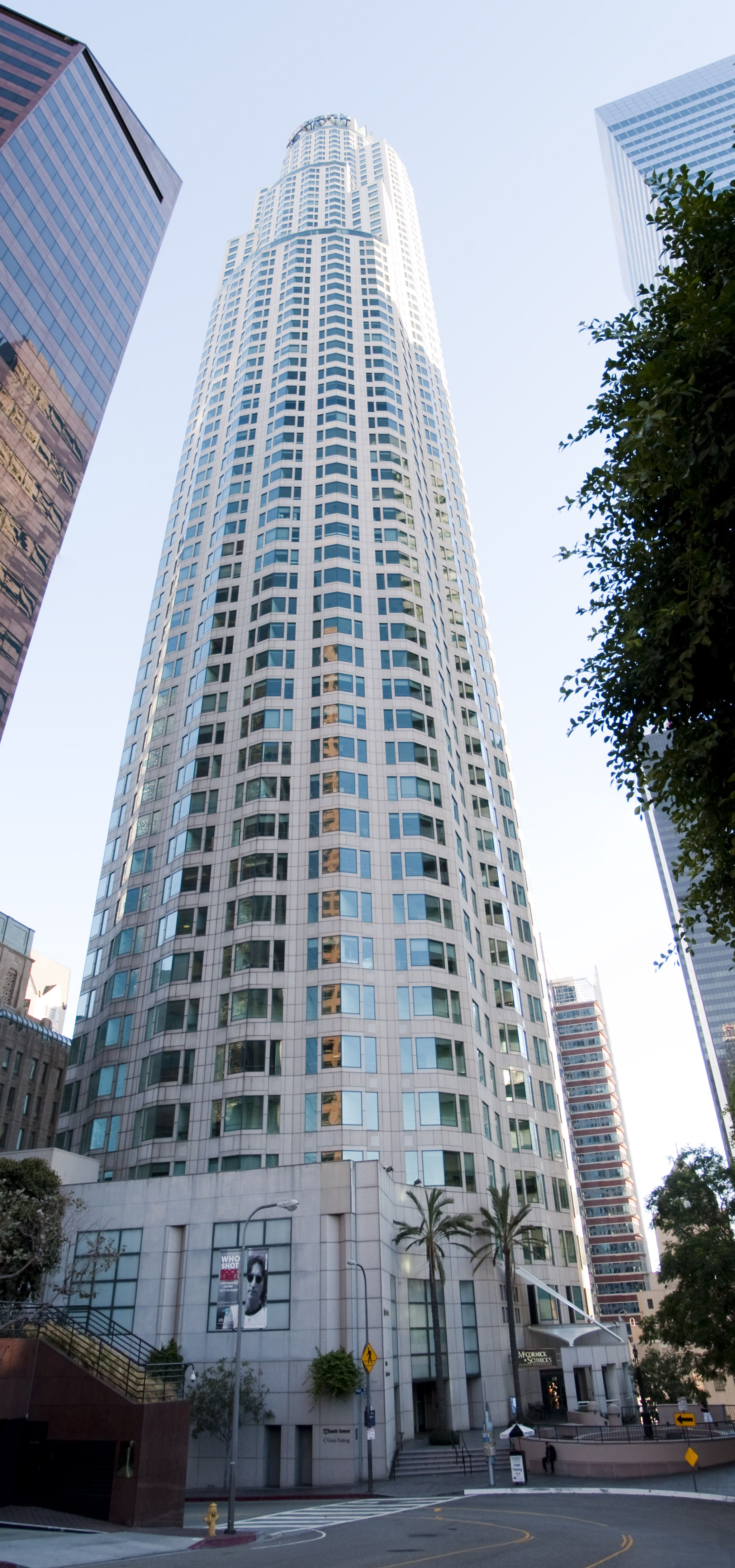 U S Bank Tower Los Angeles California Usa It Is Located At 623 W 5th Street Los Angeles It Has 73 Floors And Has A Height Us Bank Tower Tower Building