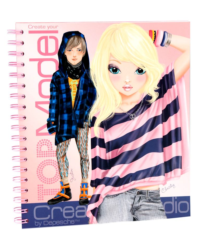 Creative Character Design Book : Depesche create your top model colouring book igloo