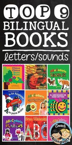 Top 9 Bilingual Books for teaching alphabet letters \ sounds - letters of recommendations