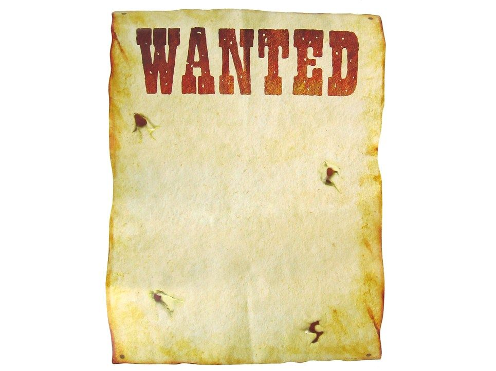 Free Printable Western Wanted Posters | ... Themed Parties U0026 Solid  Tableware | Western  Create A Wanted Poster Free