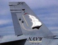 """VFA-132 """"Privateers"""".  Naval Air Station, Cecil Field, FL (1987-1991)"""