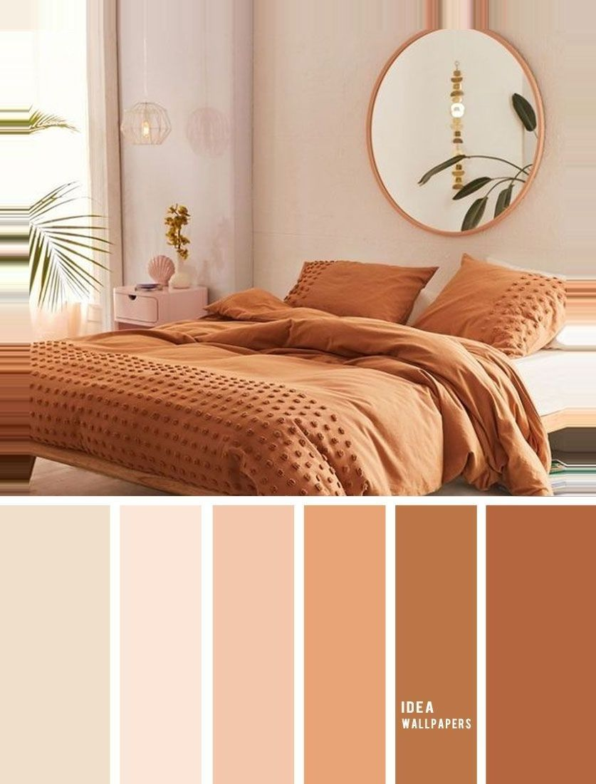 10 Best Color Schemes For Your Bedroom Terracotta Earthy Tones Ear Awesome Pretty Wallpa Beautiful Bedroom Colors Bedroom Color Schemes Room Color Schemes