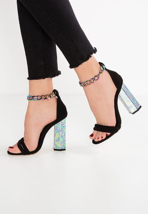 Chaussures Missguided Sandales à talons hauts - black noir  55,00 € chez  Zalando ba67f87e8863