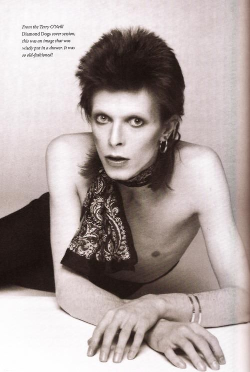 David Bowie From the Terry O'Neill Diamond Dogs cover session
